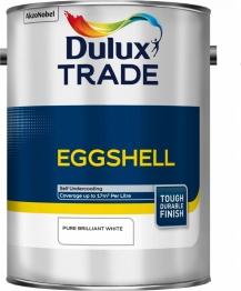Dulux Paint Trade Eggshell Pure Brilliant White 5l
