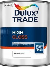Dulux Trade Medium Gloss Paint Colour Dimensions 1l