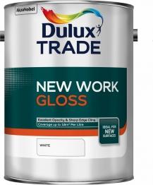 Dulux New Work Gloss White 5l