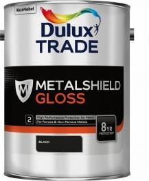 Dulux Metalshield Gloss Black 5l