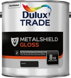 Dulux Metalshield Gloss Black 2.5l