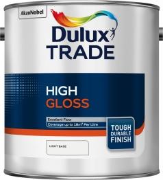 Dulux Trade Light Gloss Paint Colour Dimensions 2.5l