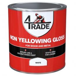 4trade Non Yellowing Gloss 1l White