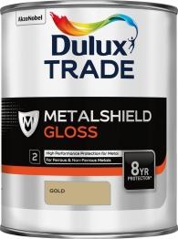 Dulux Metalshield Gloss Gold 1l