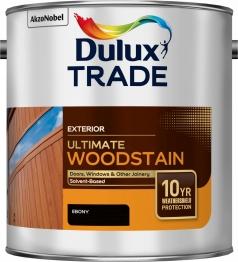Dulux Trade Weathershield Ultimate Woodstain Ebony 2.5l