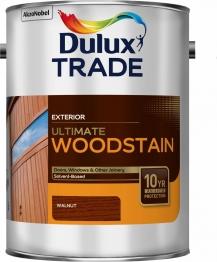 Dulux Trade Weathershield Ultimate Woodstain Walnut 5l