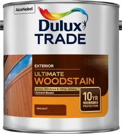 Dulux Trade Weathershield Ultimate Woodstain Walnut 2.5l