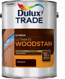 Dulux Trade Weathershield Ultimate Woodstain Rosewood 5l