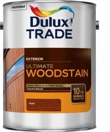 Dulux Trade Weathershield Ultimate Woodstain Teak 5l