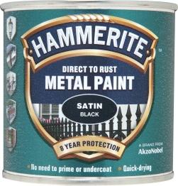 Hammerite Specials Satin Black 250ml