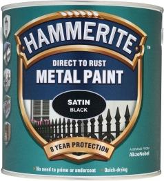 Hammerite Specials Satin Black 2.5l