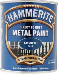 Hammerite Metal Paint Smooth Blue 750ml