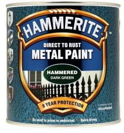 Hammerite Hammered Dark Green 2.5l