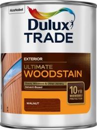 Dulux Trade Weathershield Ultimate Woodstain Walnut 1l