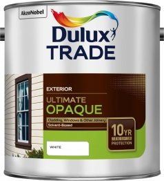 Dulux Trade Weathershield Ultimate Opaque White 2.5l
