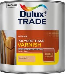 Dulux Polyurethane Varnish Satin 2.5 Litre