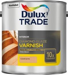 Dulux Diamond Glaze Varnish Satin 2.5 Litre