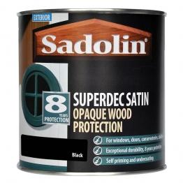 Sadolin Superdec Black 1l