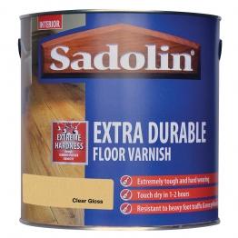 Sadolin Polyurethane Floor Varnish Clear Gloss 2.5l