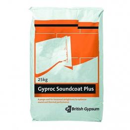 British Gypsum Gyproc Soundcoat Plus 25kg Bag