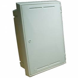 Mitras Recessed Gas Meter Box White (box Only)