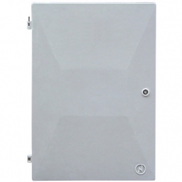 Mitras Recessed Electric Meter Box Spare Door White 383mm X 550mm