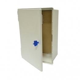 Mitras Mk3 Surface Mounted Electric Meter Box White
