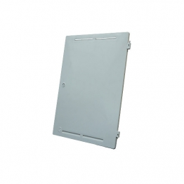 Mitras Recessed Gas Meter Box White Door Only