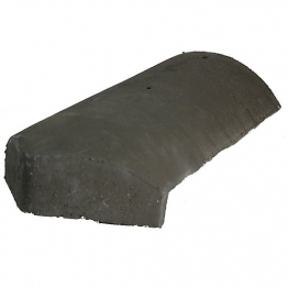 Redland Third Round Block End Hip Slate Grey