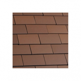 Eternit Acme Red Smooth Single Camber Tile