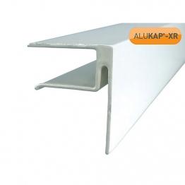 Alukap-xr 16mm End Stop Bar 4800mm White