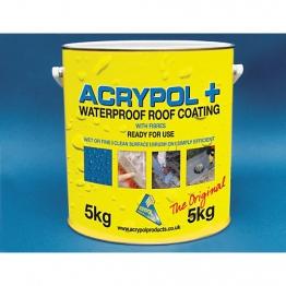 Acrypol+ Waterproof Roof Coat 5kg White Rc3006/5