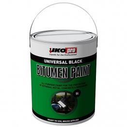 Ikopro Black Bitumen Paint 5ltr