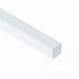 Eurocell Window Trim Upvc Large Quadrant White 17.5mm