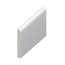 Eurocell Window Trim Upvc Pencil Round Architrave White 65mm X 5m