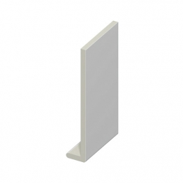 Eurocell Roofline Profile Upvc Capping Board White 9mm X 200mm X 5m