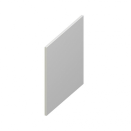 Eurocell Roofline Profile Upvc Utility Board White Ub 300 Wh 300mm X 9mm