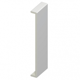Eurocell Roofline Profile Upvc Double Capping Board White Dcb 450 Wh 450mm X 9mm