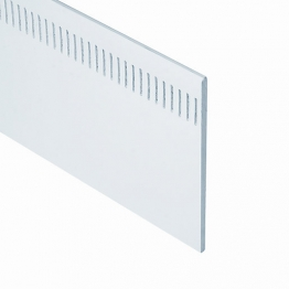 Eurocell Roofline Profile Upvc Eurosoffit Board White Es150 Wh 150mm X 9mm