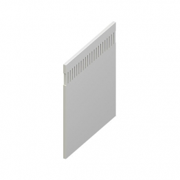 Eurocell Roofline Profile Upvc Eurosoffit Board White Es 300 Wh 300mm X 9mm