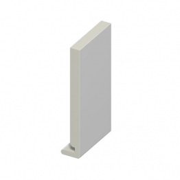 Eurocell Roofline Profile Upvc Uroboard White Eb 225 Wh 225mm X 18mm