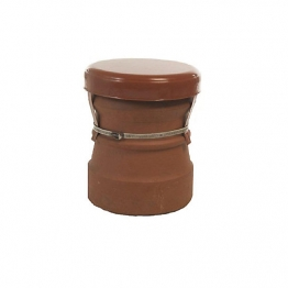 Mad Capping Cowl Powder Coated Terracotta