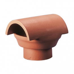 Hepworth Chimney Pots Chimney Pot Bonnet Insert Red 205mm Yl20r