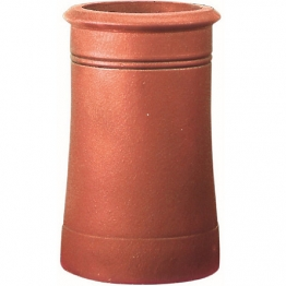 Hepworth Chimney Pots Chimney Pot Cannon Head Red 375mm Ym12r