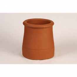 Hepworth Chimney Pots Roll Top Red 375mm Ym18r