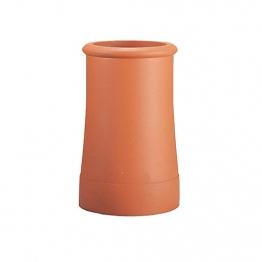 Hepworth Chimney Pot Roll Top Red 450mm