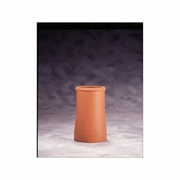 Hepworth Chimney Pot Roll Top Buff 300mm