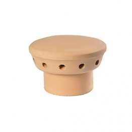 Hepworth Chimney Pots Chimney Pot Fluvent Buff 205mm Yl13b
