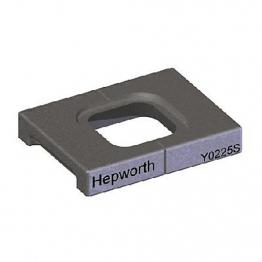 Hepworth 225mm Flue Adaptor Square 2005 Y0225s