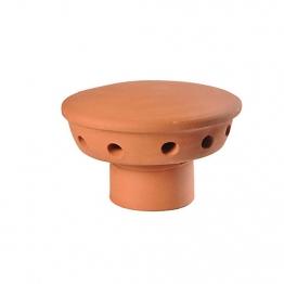 Hepworth Chimney Pot Fluevent Red 180mm
